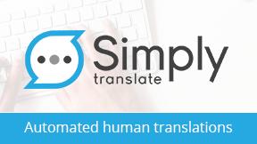 Simply Translate - Automated Human Translations