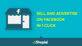 Shopial - Sell your products on Facebook