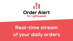 Order Alert for Lightspeed